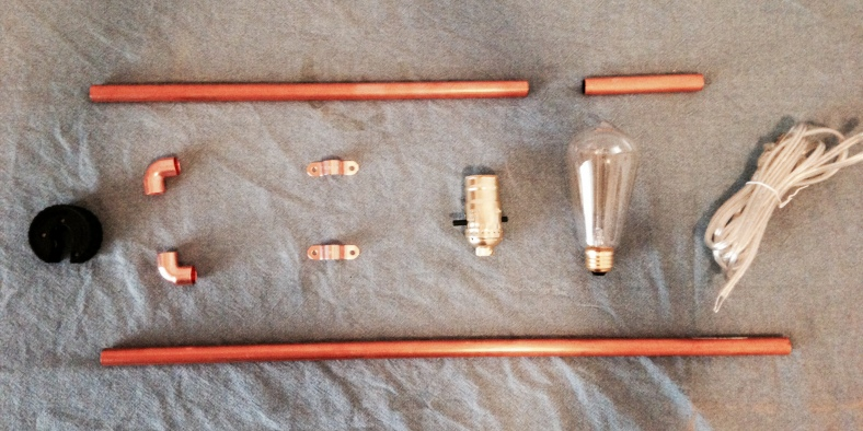 Copper Pipe Lamp DIY