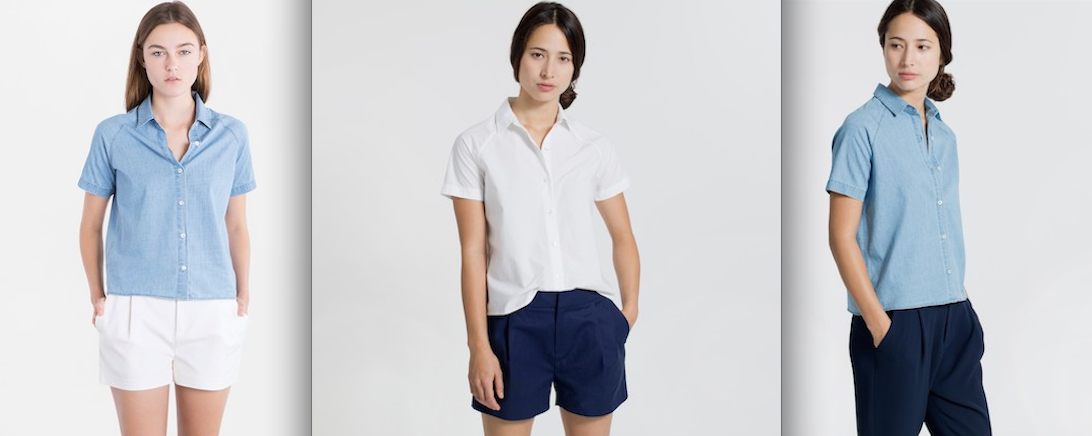 Everlane the short sleeve shirt