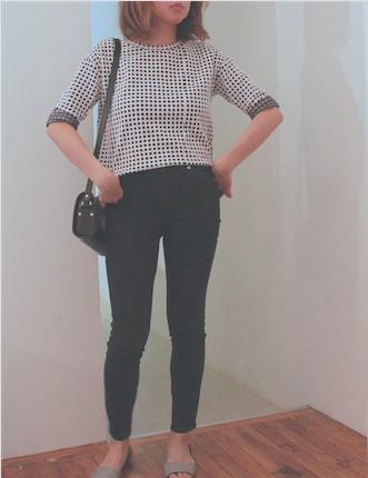 lou grey grid print shirt