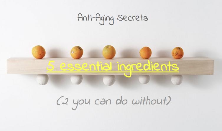 anti-aging skin care secrets