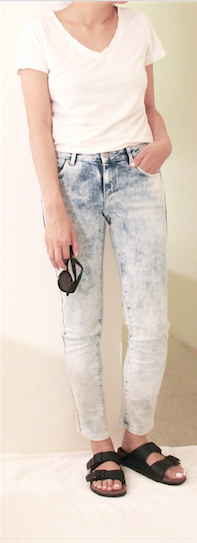 jeans and white t shirt outfit