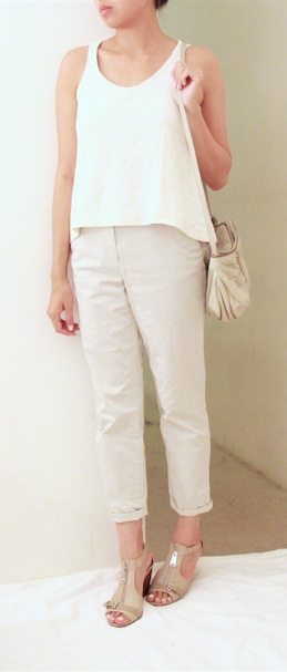 everlane cos michael cors white outfit 1