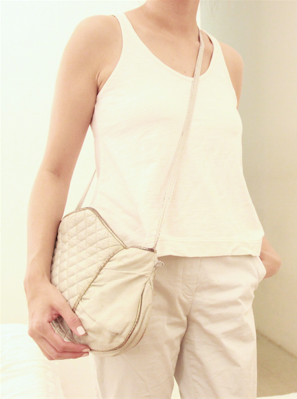 everlane cos michael cors white outfit 2