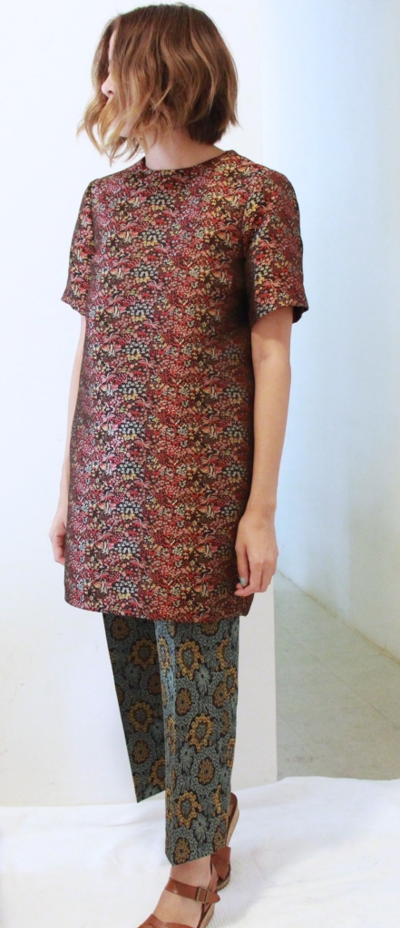 jacquard zara dress outfit
