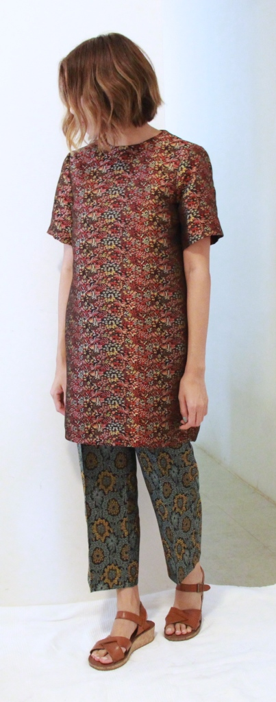 zara jacquard tunic asian dress