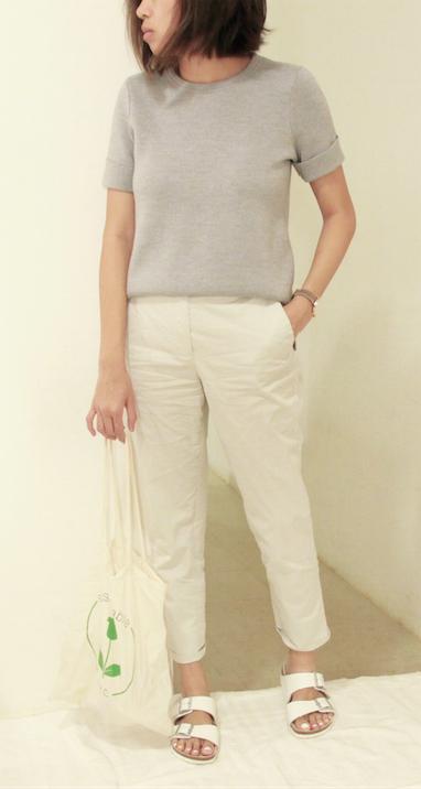 plain outfit