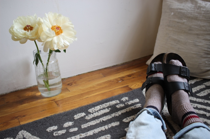 Dr. It Girl Birks and Peonies