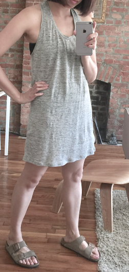 EVERLANE RACERBACK DRESS